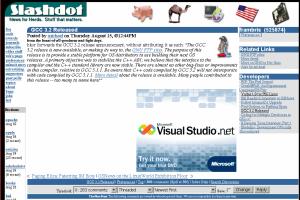 GCC article and Visual Studio bannerGCC article and Visual Studio banner
