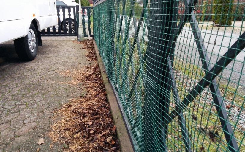 Securing fences for futurepuppy